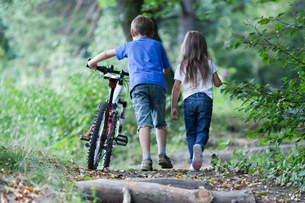 Enfants en balade, Pays de Thiérache